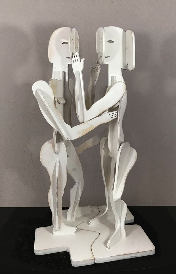 Richard Downs ,   Touch More  ,  2018     Baltic Birch ,  32