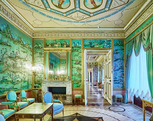 Exhibition: Art & Gift Extravaganza, Work: David Burdeny Blue Drawing Room, Catherine Palace, Pushkin, RUS, 2014