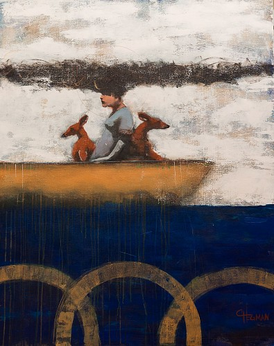 Cathy Hegman - Long Boats Peaceful Journey, 2019