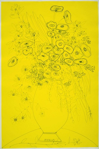 America Martin<br/> <i>A Bounty of Yellow Flowers</i>, 2015