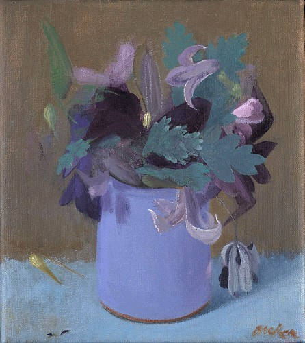 Haidee Becker - Pot with Clematis, 2019